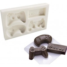 Video Game Remotes Silicone Mold (4 designs)