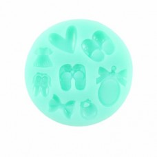 Baby Girl Shoes Silicone Mold