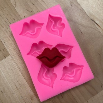 Lips Silicone Mold (Small)