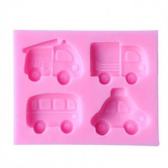 Vehicles Silicone Mold (4 designs)