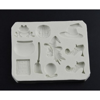 Halloween Assorted silicone mold (Mini)
