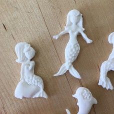 Mermaids Silicone Mold