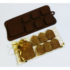 Silicone Moulds for 6+1 Bird Cages Chocolate Collection