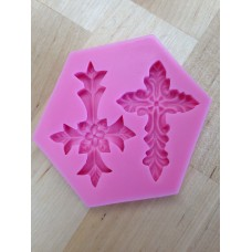 Cross Silicone Mold (2 small)