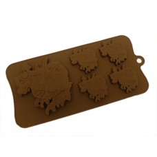 Silicone Moulds for 4+1 Dragon Chocolate Collection