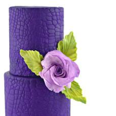 Satin Ice Rolled Fondant Purple/Vanilla 1 Kg