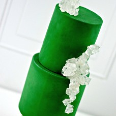 Satin Ice Rolled Fondant Green/Vanilla 1 Kg