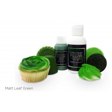 Spectrum Flow Matt Airbrush Paint for Chocolate and Sugarpaste - Leaf Green
