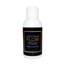 Spectrum Flow Glitter Airbrush Paint For Chocolate And Sugarpaste 100ml GOLD