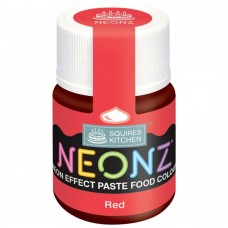 SK NEONZ Paste Colours - Red
