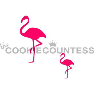 Flamingo Stencil (2 sizes)