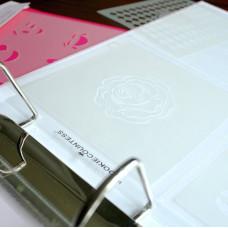 Stencil Storage Pocket Pages