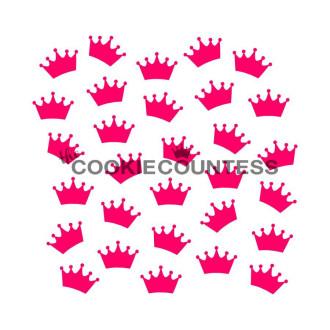 Crowns Stencil