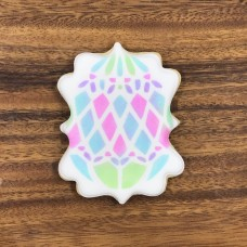 Easter Egg Diamonds Stencil