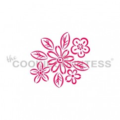 Drawn with character - Graphic Flowers PYO Stencil