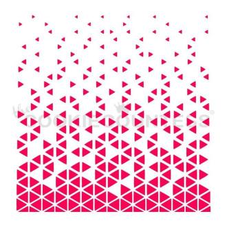 Falling Triangles Stencil