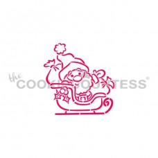 Drawn with character - Santa Claus in Sleigh PYO