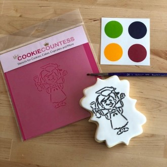 Plaque Cookie Cutter Square by LilaLoa