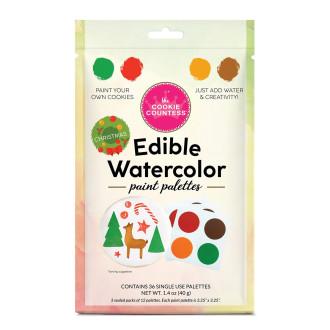 PYO Paint Palettes - Christmas (36 per pouch)