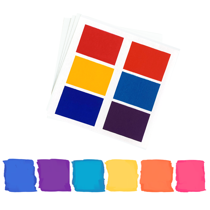 PYO Paint Palettes - Bright Colors (12 per pouch)
