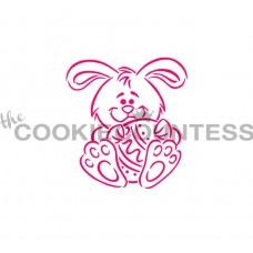 Drawn with character - Bunny and Egg Stencil PYO
