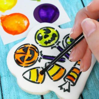PYO Paint Palettes - Halloween Colors (12 per Pouch)