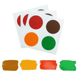 PYO Paint Palettes - Christmas (12 per Pouch)