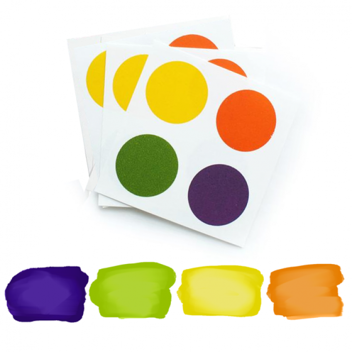 PYO Paint Palettes - Halloween Colors (12 per Pouch)
