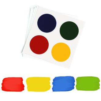 PYO Paint Palettes - Primary Colors (12 per Pouch)