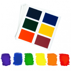 PYO Paint Palettes - Rainbow Colors (12 per pouch)