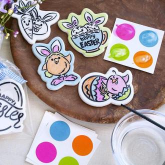 PYO Paint Palettes - Easter Colors (12 per pouch)