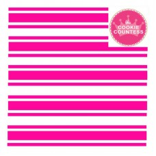 Preppy Stripes stencil (Candy Cane Design)