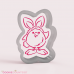 Drawn with character - Fluffy Chick in Bunny Costume PYO + Cutter