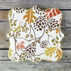 Autumn Bramble  - 3 Overlay Background Stencil Set