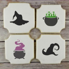 Witch Accents Cookie Stencil