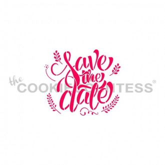 Save The Date Stencil