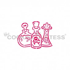 Drawn with character - Potion Bottles  PYO