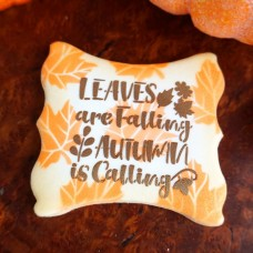 Leaves are Falling, Autumn is Calling Stencil
