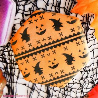 Halloween Fair Isle Stencil