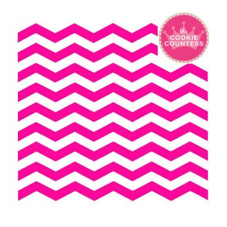 Chevron Narrow Stencil