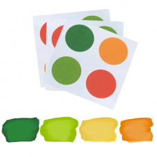 PYO Paint Palettes - St Patrick's Day Colors (12 per Pouch)