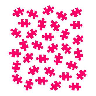 Puzzle Pieces Stencil