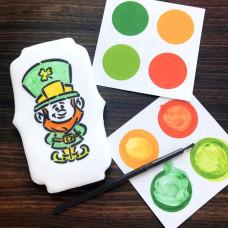 PYO Paint Palettes - St Patrick's Day Colors (12 per Pouch)