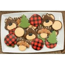 Buffalo Plaid Stencil (mini)