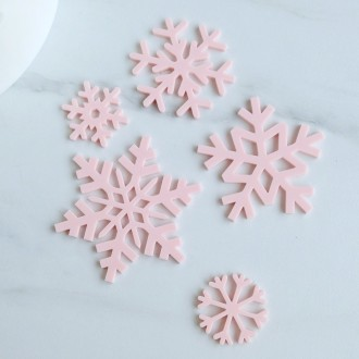 Sweet Stamp - SnowFlakes silhouettes Elements