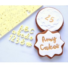 Sweet Stamp - Cookie Set Uppercase, Lowercase, Numbers & Symbols (SMALL)