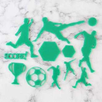 Sweet Stamp - Soccer silhouettes Elements