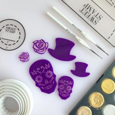 Sweet Stamp - Day of the Dead silhouettes Elements