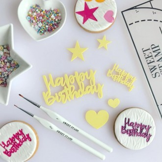 Sweet Stamp - Happy Birthday Elements