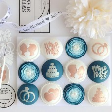 Sweet Stamp  - Mr & Mrs silhouettes Elements